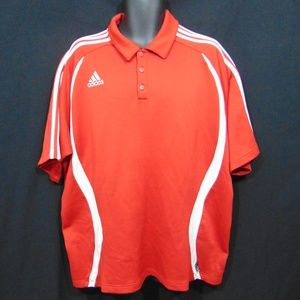 ADIDAS Climalite Men's Polo Style Shirt XL Soccer